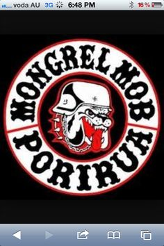 glimpse at New Zealand Gangs Album Biker Clubs, Motorcycle Clubs, Mongrel, Red Vs Blue, New Zealand, Patches, Colours, Cool Stuff, Gang Members