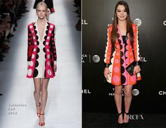 Hailee Steinfeld In Valentino – 'Begin Again' Tribeca Film Festival Closing Night Gala Premiere