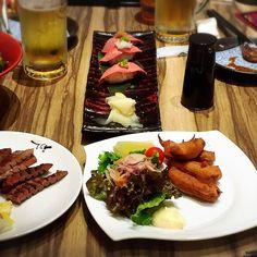#牛たん #軒目 #利久 #牛握り #牛タン皿 美味しかった #そとごはん #外食  #西野亮廣 #えんとつ町のプペル #作戦会議