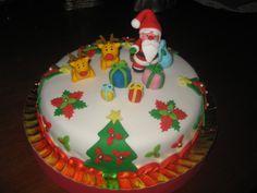 Tarta de Navidad.
