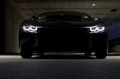 BMW i8 in the dark   # Pinterest++ for iPad #