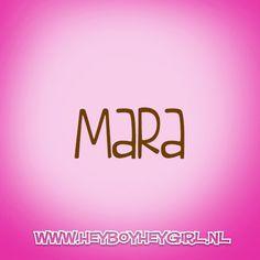 Mara (Voor meer inspiratie, en unieke geboortekaartjes kijk op www.heyboyheygirl.nl)