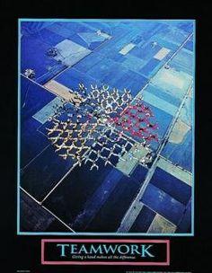 Teamwork 8x10 Skydive Motivational Poster Inspirational Art Print wallsthatspeak http://www.amazon.com/dp/B000SN7GM4/ref=cm_sw_r_pi_dp_zss8ub1M2NKEW