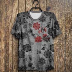 Camiseta  Sad  Flowers
