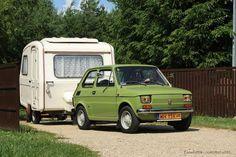 Fiat 126, Retro Cars, Vintage Cars, Car Polish, Mini Trucks, Smart Car, Rv Campers, Old Cars, Concept Cars
