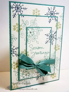 Narelle Fasulo - Independent Stampin' Up! Demonstrator - Triple Time Stamping