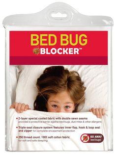 Bed Bug Blocker Cotton Rich Zippered Mattress Protector - casa.com