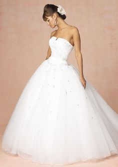 My wedding dress will have a four foot radius and be insanely poofy :)