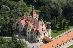 Castle Mailath in Donji Miholjac, Croatia