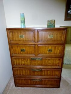 Chest of drawers for sale by Crown City Antiques and Estate Sales near La Crescenta, Montrose, La Canada, Pasadena and Glendale