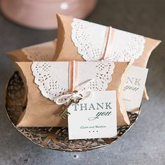Package your favors in a charming way with our DIY Kraft Pillow Box Favor Wrapping Kits. Well suited for a vintage or rustic wedding theme,. Vintage Wedding Suits, Vintage Wedding Favors, Wedding Shower Favors, Beach Wedding Favors, Wedding Favor Boxes, Wedding Favors For Guests, Diy Wedding, Rustic Wedding, Wedding Gifts