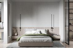 Interior Decorating, Interior Design, Interior Ideas, Master Bedroom, Bedroom Decor, Interior Rendering, Classic Interior, Minimalist Bedroom, Studio Apartment