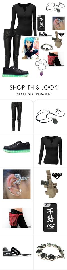 """""""fik-shun and Dytto's daughter"""" by ironkyle ❤ liked on Polyvore featuring Maje, Doublju, Casetify and Ali NY"""