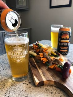 Get ready for the season! ☀️🍻 Start summer early with Walkerville Waterfront Wit 🙌 Walkerville Brewery Waterfront Wit with Balsamic Glazed Steak Rolls. Balsamic Glaze, Balsamic Vinegar, Steak Rolls, Wheat Beer, Essex County, Skirt Steak, Beef Broth, Wineries, Coriander