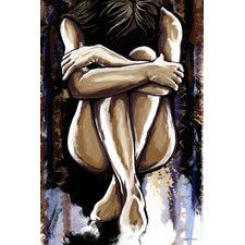 'Ashley' Graphic Art on Wrapped Canvas