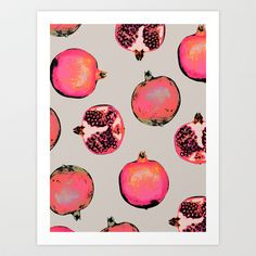 Pattern Pomegranate Paradise by Georgiana Paraschiv H. grant Heim - makes me think of your grapefruits!Pomegranate Paradise by Georgiana Paraschiv H. grant Heim - makes me think of your grapefruits!