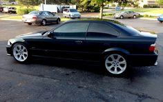 BMW 1998 2 door M3 with E90 rims