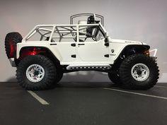 Axial 1/10 SCX10 2012 Jeep Wrangler Rubicon CUSTOM BODY SHELL | Oak-man Designs