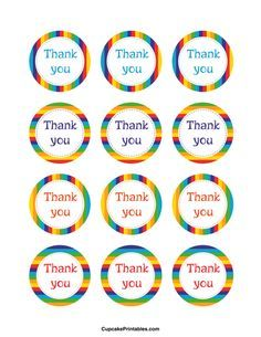 25 thank you for coming to my party tags custom party favor tags