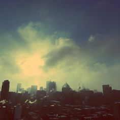 Wintery Smog City Skylines Have Their Own Beauty!  Photo by iamaustinhk