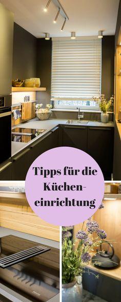 In den Holzschüben aus Eiche finden Kartoffeln und Zwiebeln ihren - Küche Einrichten Ideen