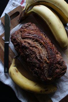 Wicked sweet kitchen: Cinnamon banana bread Cinnamon Banana Bread, Steak, Wicked, Kitchen, Food, Cooking, Kitchens, Essen, Steaks
