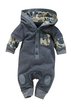 Buy Denim Look Romper (0-18mths) from the Next UK online shop