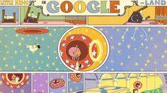 Doodle extraordinaire: anniversary of Little Nemo in Slumberland by Winsor McCay Best Google Doodles, Google Doodle Today, Doodle Google, Google Today, Create Animation, Animation Film, Little Nemo In Slumberland, Doodle Designs, Comic Strips