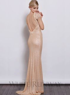 Sequinned Gatsby Gown by Jadore