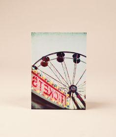 Riesenrad / Ferris Wheel Postcard