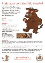 The Gruffalo - Gruffalo Crumble Gruffalo Activities, Gruffalo Party, The Gruffalo, Reading Activities, Activities For Kids, Literacy Day, Early Literacy, Julia Donaldson Books, Gruffalo's Child