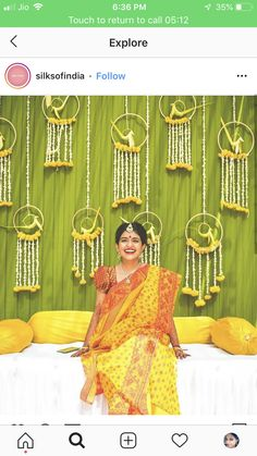 Simple Stage Decorations, Marriage Decoration, Wedding Stage Decorations, Engagement Decorations, Diwali Decorations, Marigold Wedding, Mehendi Decor Ideas, Indian Baby Showers, Baby Shower Deco