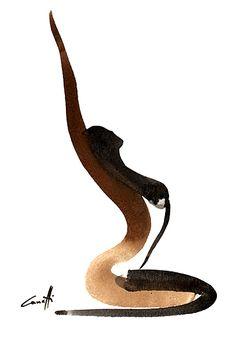 Abstract Art Paintings 388294799104631276 - Michel Canetti – Agence Marie Bastille Source by aimelacord Painting Inspiration, Art Inspo, Yoga Kunst, Illustration Mode, Illustrations, Arte Sketchbook, Yoga Art, Erotic Art, Line Art