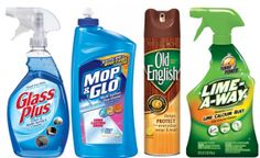 7 NEW Home Cleaning Product Coupons: Glass Plus, Mop N Glo, Clorox & More!