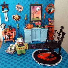 1Pc Miniature dollhouse tiny Little mini Pumpkin Halloween Rare charm findings