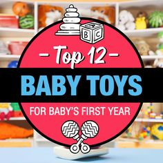 """Buying baby toys can be super overwhelming. It's so hard to know which toys are """"the best"""" for each stage of your baby's development. Creating a registry and also buying…"""