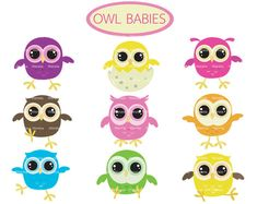 Items similar to owl baby clip art - baby owl - Cute Owl Digital Clip Art - baby owl clipart - baby owl clipart - owl baby - Personal and Commercial Use on Etsy Cute Baby Owl, Baby Owls, Owl Babies, Clipart Baby, Owl Clip Art, Baby Clip Art, Cute Owl Cartoon, Owl Shower, Baby Shower