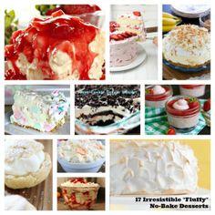 17 Irresistible Fluffy No-Bake Desserts