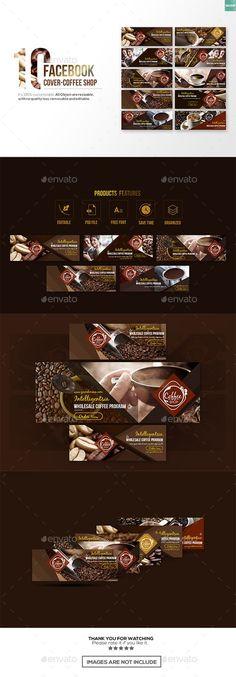 10 Facebook Cover - Coffee Shop