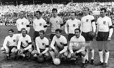 File photo of the English national soccer team players incliding Alan Ball posing for a group picture after their victory over Denmark in the pre World Cup friendly in Idraetsparken in Get premium, high resolution news photos at Getty Images Squad Photos, Team Photos, 1966 World Cup, Fifa World Cup, Football Squads, Football Team, Jack Charlton, Bobby Moore, World Cup Winners