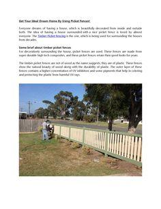 Best #Rural & #Farm & #Timber #Picket fencing Supplier in #Australia