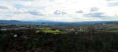 Valle de Lemos en el centro de Galicia-Spain