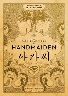 Secret Cinema X The Handmaiden Cinema Movies, Iconic Movies, Good Movies, Live Action, Room Posters, Movie Posters, Film Poster, Dramas, Park Chan Wook
