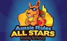 Logo for Aussie Rules All Stars by 3AM3I