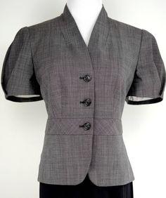 Banana Republic Short Sleeve Suit Jacket Size 10P