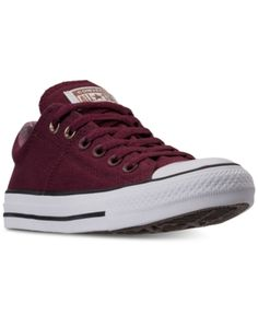 huge selection of 41a29 58f41 Converse Womens Chuck Taylor Madison Casual Sneakers from Finish Line -  Red 7 Red Sneakers,
