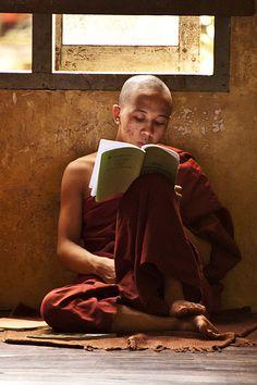 Young Monk, Burma (Myanmar)