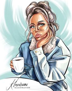 Art Auctions for Drawings – Viral Gossip Art Anime Fille, Anime Art Girl, Cartoon Kunst, Cartoon Art, Art And Illustration, Arte Black, Girly Drawings, Digital Art Girl, Fashion Wall Art