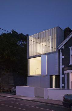 Residence in Lower Grangegorman, Dublin, by ODOS Architects #architecture #house #contemporary  FaCADE  AtElIEr dIA DiAiSM  ACQUiRE UNDERSTANDiNG TjAnn   MOHD HATTA iSMAiL DiA ArT TraVeL TJANTeK ArT SPACE