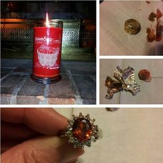 Omg! There's a ring in the candle!! I want one!!